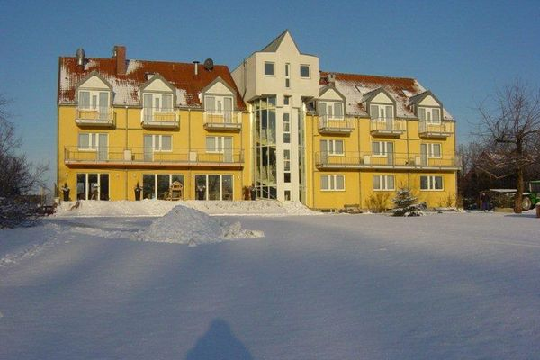 Landhotel im Winter